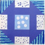 WINTER QUILT BLOCK