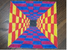 TUNNEL OP ART