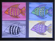 ANDY WARHOL FISH