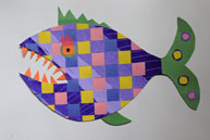 PAPER WEAVING FISH