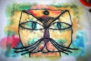 PAUL KLEE'S CAT AND BIRD